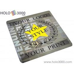 "Hologram sticker ""GENUINE"" 18x18mm (1x245 pcs)"