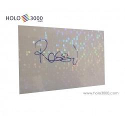 """Hologram sticker TRANSPARENT """"GENUINE"""" sheets"""